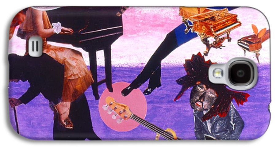 Grand Piano Galaxy S4 Case featuring the drawing Soap Scene #21 Beggar Belief by Minaz Jantz