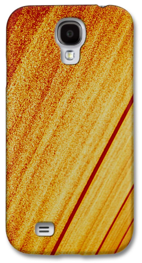 Abstract Galaxy S4 Case featuring the photograph Sod by David Rivas