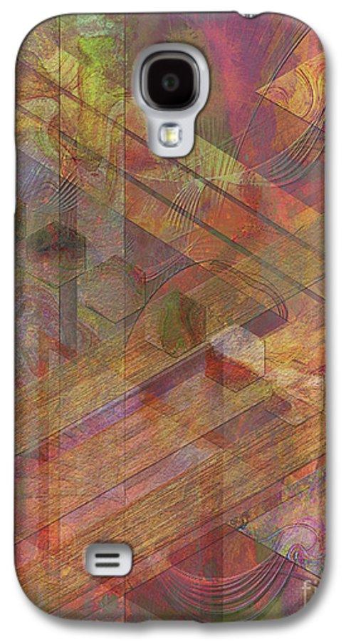 Soft Fantasia Galaxy S4 Case featuring the digital art Soft Fantasia by John Beck