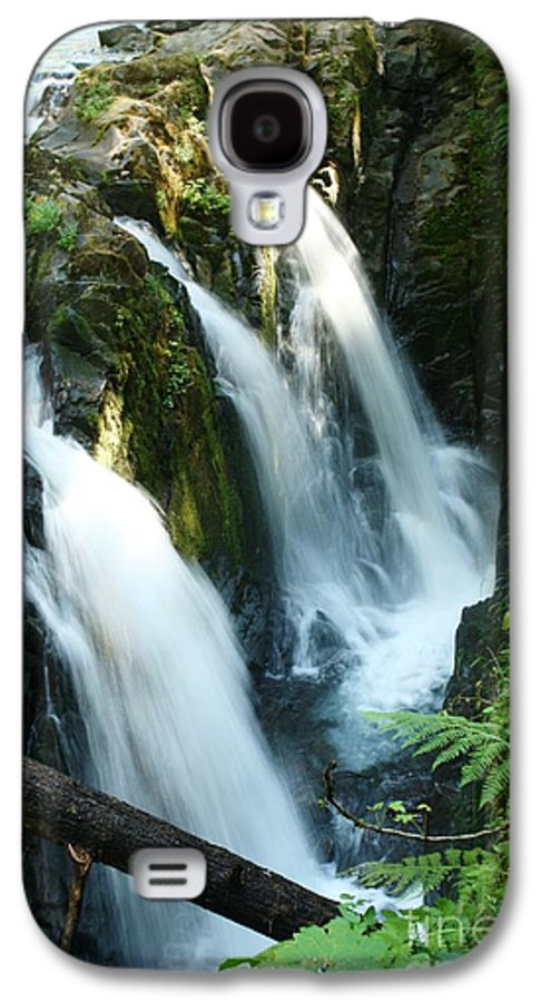 Waterfall Galaxy S4 Case featuring the photograph Sol Duc Falls by Idaho Scenic Images Linda Lantzy