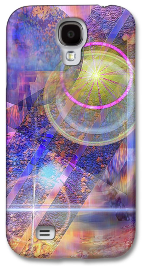 Solar Progression Galaxy S4 Case featuring the digital art Solar Progression by John Beck