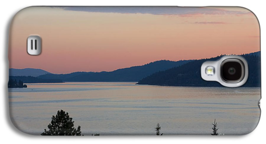 Sunset Galaxy S4 Case featuring the photograph Southern Skies In Pink by Idaho Scenic Images Linda Lantzy