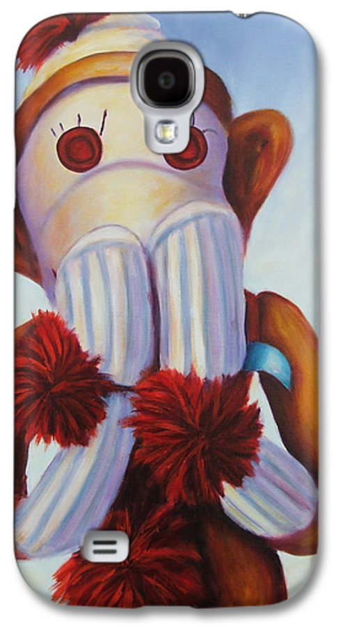 Children Galaxy S4 Case featuring the painting Speak No Bad Stuff by Shannon Grissom