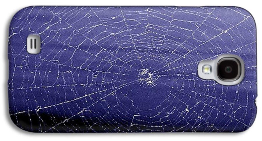 Web Galaxy S4 Case featuring the digital art Spiderweb by Kenna Westerman
