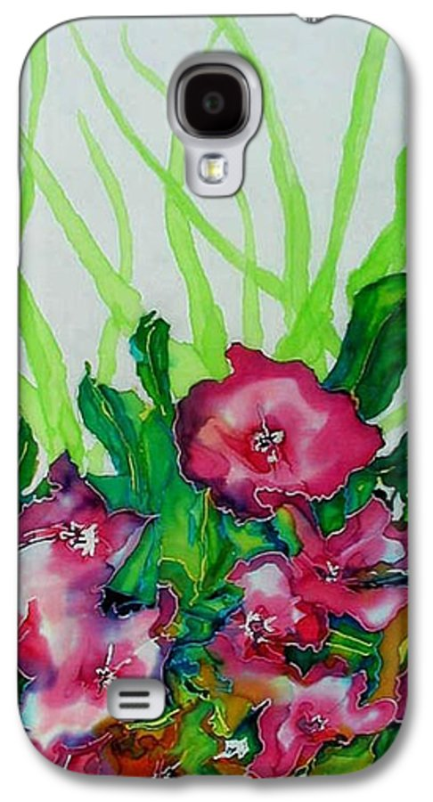 Flora Galaxy S4 Case featuring the painting Spring Celebration 1 by Ferril Nawir