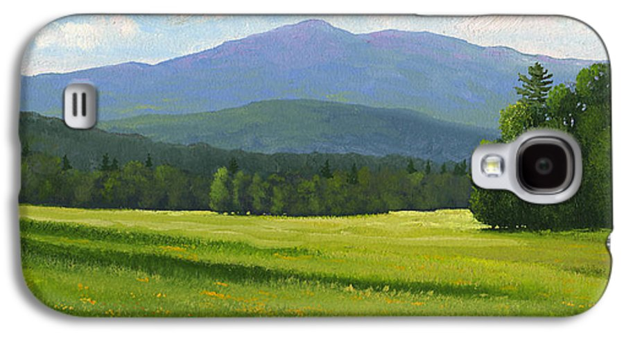 Landscape Galaxy S4 Case featuring the painting Spring Vista by Frank Wilson
