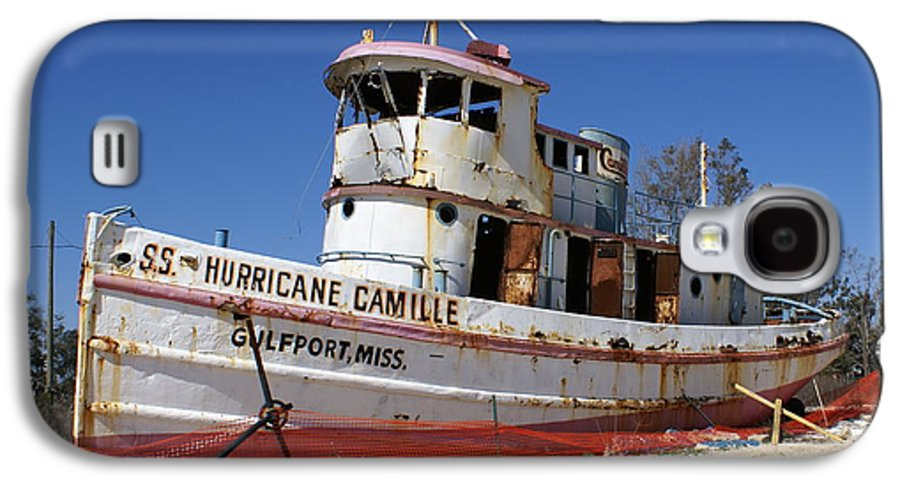 Ship Galaxy S4 Case featuring the photograph S.s. Hurricane Camille by Debbie May