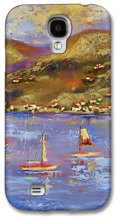 St. John Galaxy S4 Case featuring the painting St. John Usvi by Ginger Concepcion