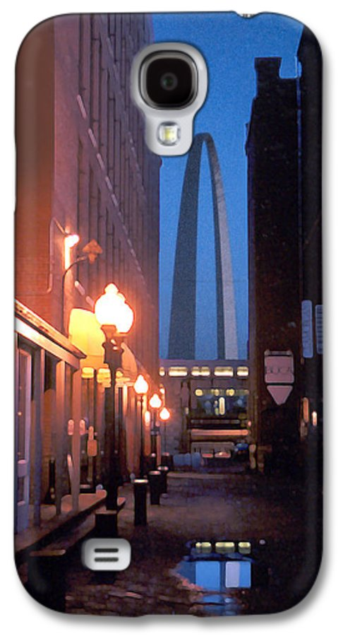 St. Louis Galaxy S4 Case featuring the photograph St. Louis Arch by Steve Karol
