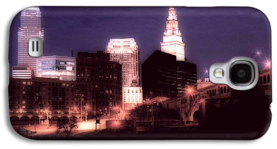 Cleveland Galaxy S4 Case featuring the photograph Standing Tall by Kenneth Krolikowski