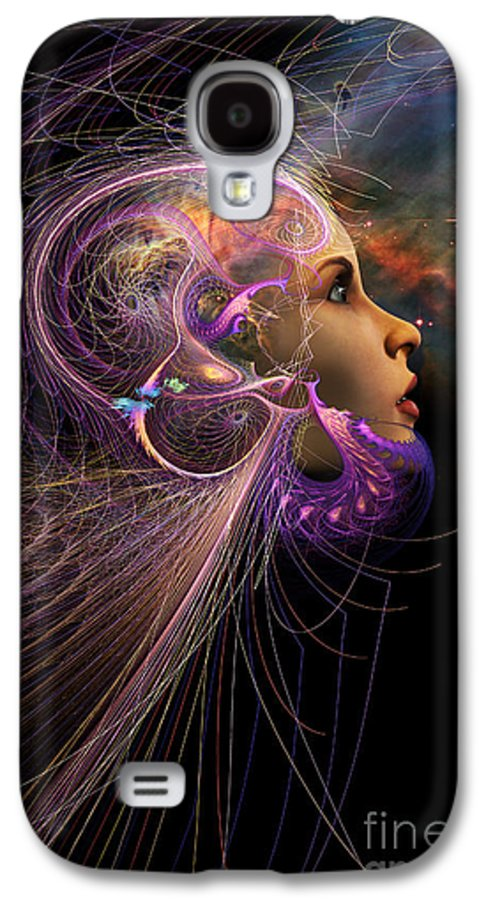 Starchild Galaxy S4 Case featuring the digital art Starborn by John Edwards