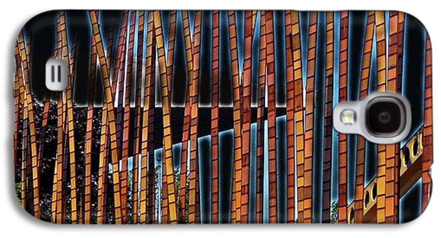 Poles Galaxy S4 Case featuring the digital art Sticks by Kenna Westerman