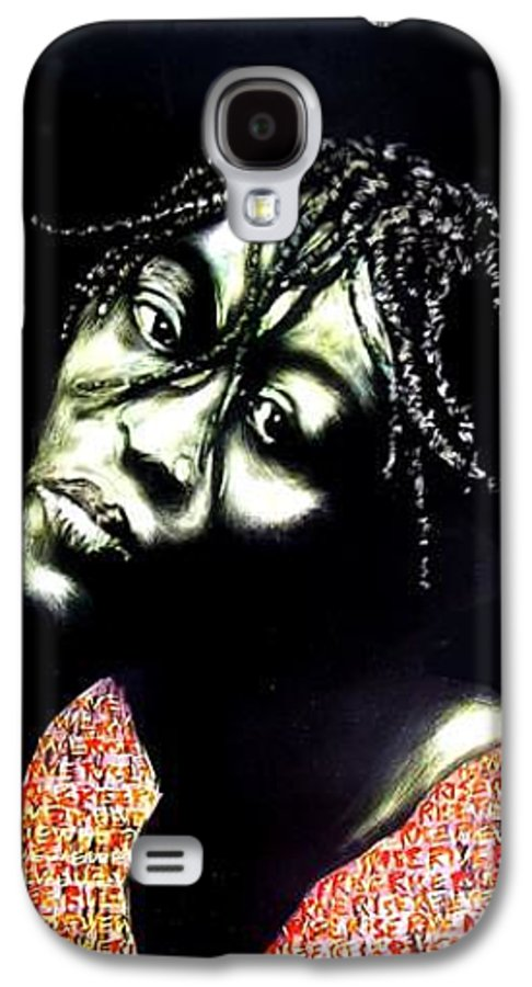 Galaxy S4 Case featuring the mixed media Still We Rise by Chester Elmore