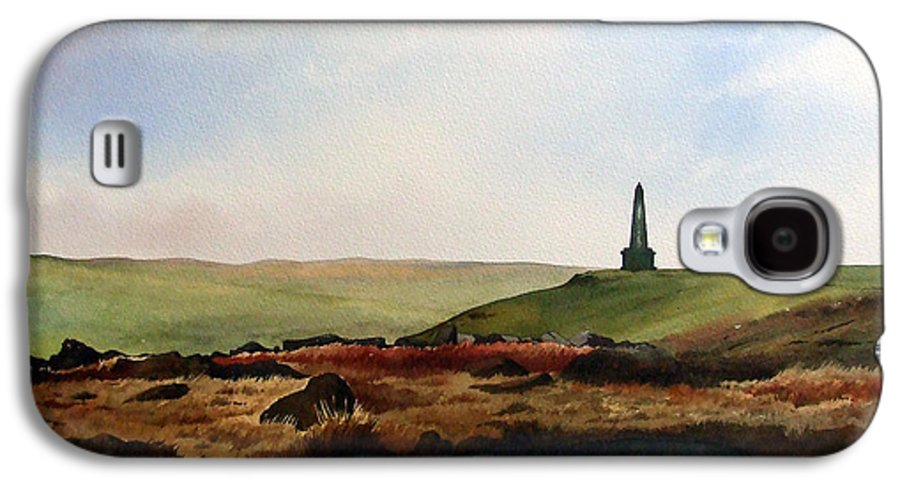 Landscape Galaxy S4 Case featuring the painting Stoodley Pike by Paul Dene Marlor