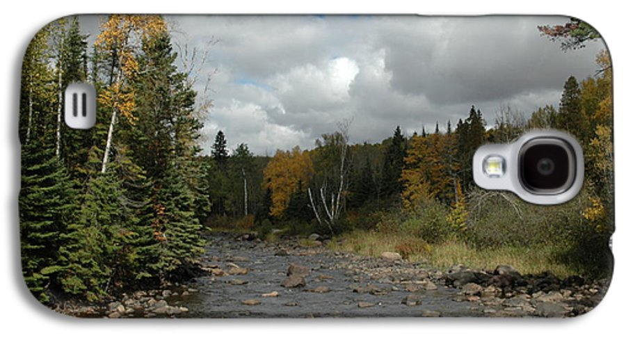 Nature Galaxy S4 Case featuring the photograph Stream At Tettegouche State Park by Kathy Schumann