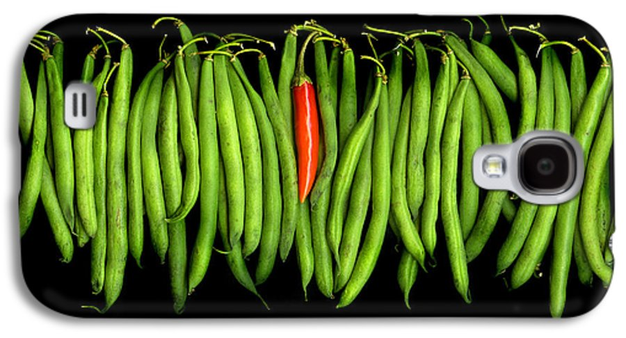 Culinary Galaxy S4 Case featuring the photograph Stringbeans And Chilli by Christian Slanec