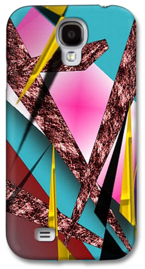 Abstracts Galaxy S4 Case featuring the digital art Structure by Brenda L Spencer