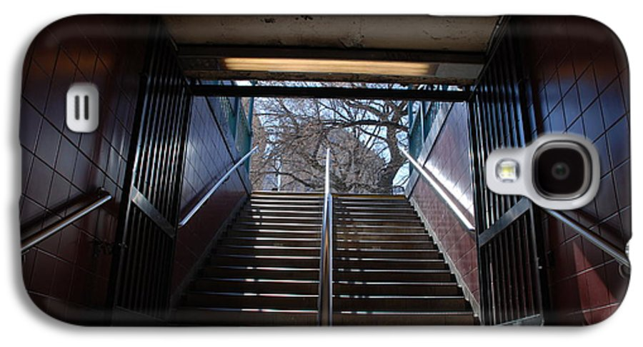 Pop Art Galaxy S4 Case featuring the photograph Subway Stairs To Freedom by Rob Hans
