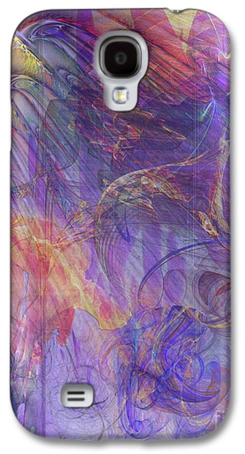 Summer Awakes Galaxy S4 Case featuring the digital art Summer Awakes by John Beck