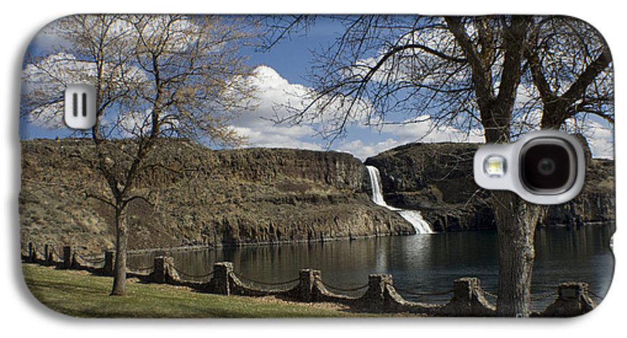 Summer Galaxy S4 Case featuring the photograph Summer Falls by Idaho Scenic Images Linda Lantzy