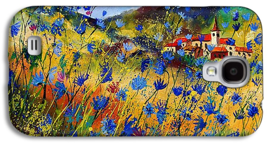 Flowers Galaxy S4 Case featuring the painting Summer Glory by Pol Ledent