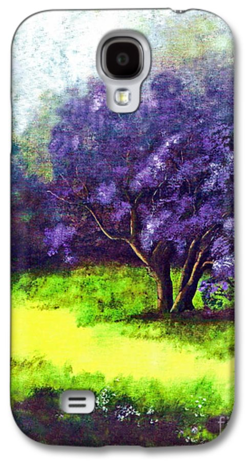 Fine Art Print Galaxy S4 Case featuring the painting Summer Mist by Patricia Griffin Brett