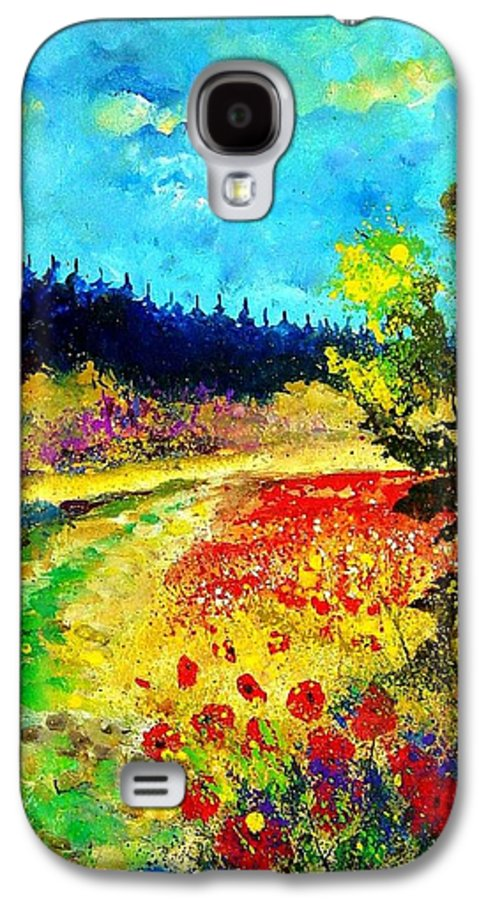 Flowers Galaxy S4 Case featuring the painting Summer by Pol Ledent