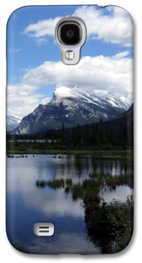 Landscape Galaxy S4 Case featuring the photograph Summertime In Vermillion Lakes by Tiffany Vest