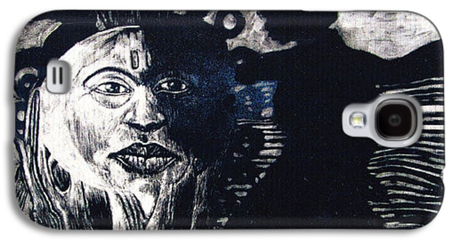 Galaxy S4 Case featuring the mixed media Sun Dance by Chester Elmore