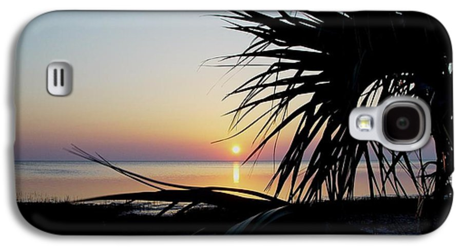Sunset Galaxy S4 Case featuring the photograph Sun Touched by Debbie May
