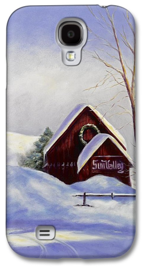 Landscape Galaxy S4 Case featuring the painting Sun Valley 2 by Shannon Grissom