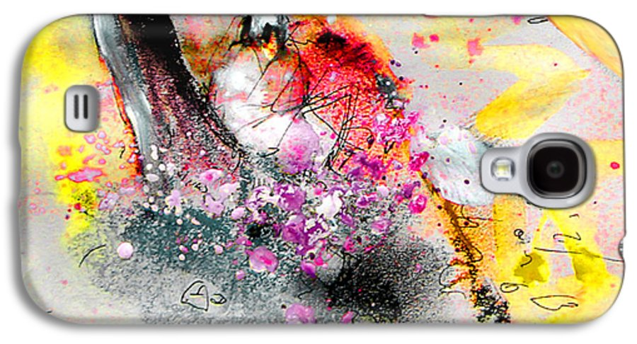Pastel Painting Galaxy S4 Case featuring the painting Sunday By The Tree by Miki De Goodaboom