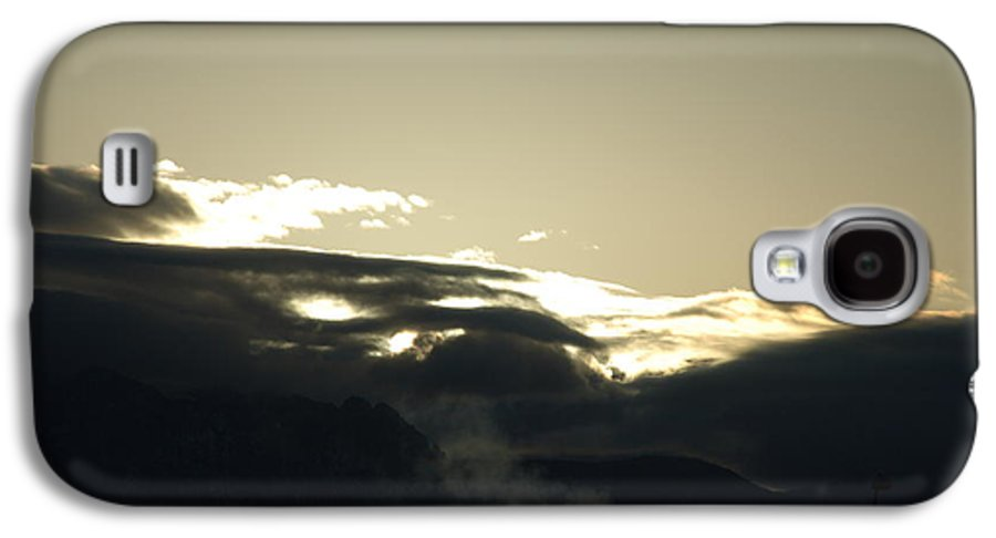 Sunrise Galaxy S4 Case featuring the photograph Sunrise Over The Sandias by Rob Hans