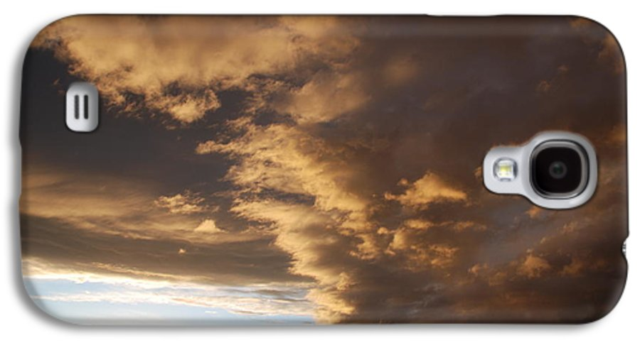 Sunset Galaxy S4 Case featuring the photograph Sunset At The New Mexico State Capital by Rob Hans