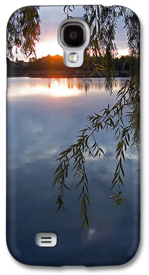 Nature Galaxy S4 Case featuring the photograph Sunset by Daniel Csoka