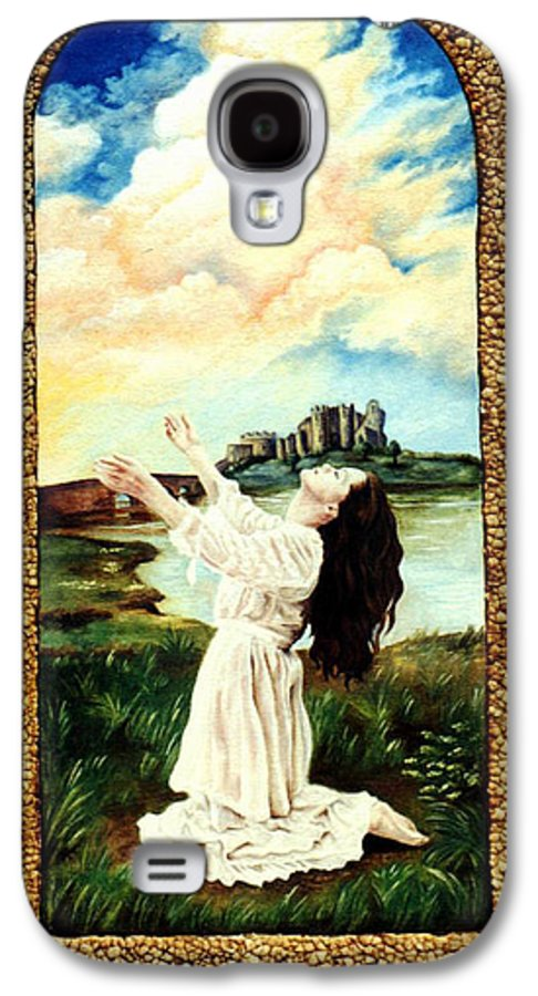 Christian Galaxy S4 Case featuring the painting Surrender by Teresa Carter