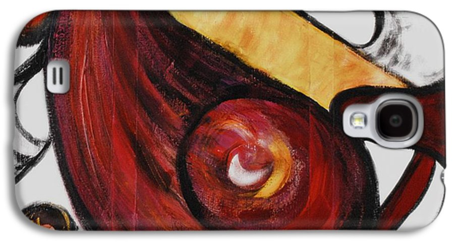 Survivor Galaxy S4 Case featuring the painting Survivor by Nadine Rippelmeyer