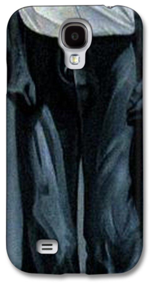 Slavery Galaxy S4 Case featuring the painting Survivor Spirit Albert by Joyce Owens