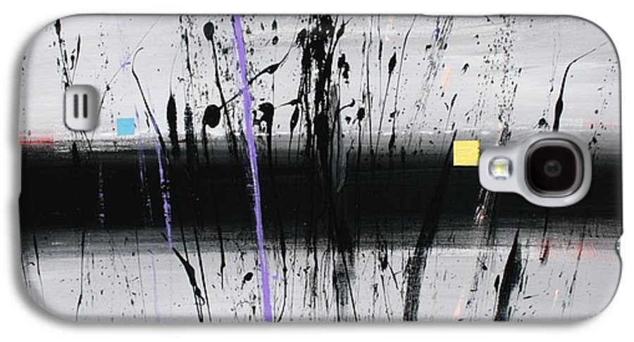 Swamp Galaxy S4 Case featuring the painting Swamp 2008 by Mario Zampedroni