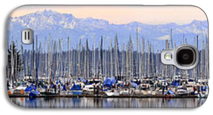 Landscape Galaxy S4 Case featuring the photograph Swantown Marina Olympia Wa by Larry Keahey