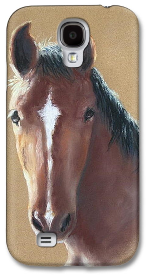 Horse Galaxy S4 Case featuring the painting Sweetie by Carol Mueller