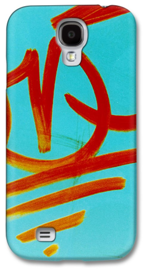 Abstract Galaxy S4 Case featuring the photograph Symbols by David Rivas