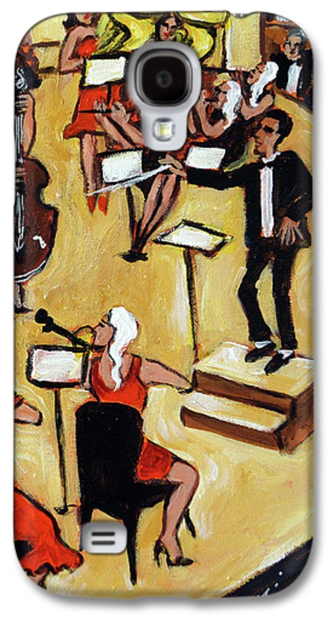 Carnegie Hall Orchestra Galaxy S4 Case featuring the painting Symphony by Valerie Vescovi