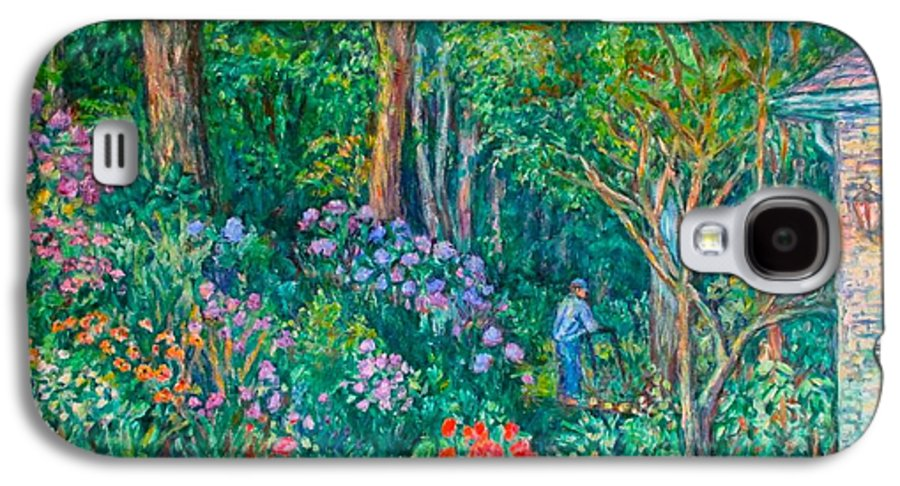 Suburban Paintings Galaxy S4 Case featuring the painting Taking A Break by Kendall Kessler