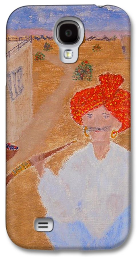 People Galaxy S4 Case featuring the painting Tau by R B