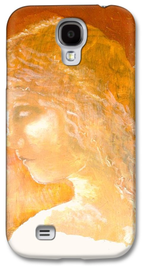Angel Galaxy S4 Case featuring the painting Tender Mercy by J Bauer