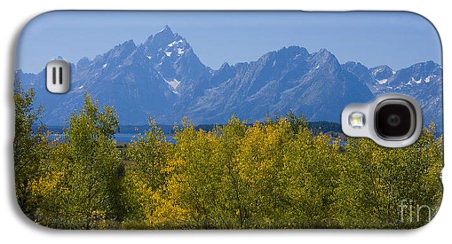 Teton Galaxy S4 Case featuring the photograph Teton Range by Idaho Scenic Images Linda Lantzy