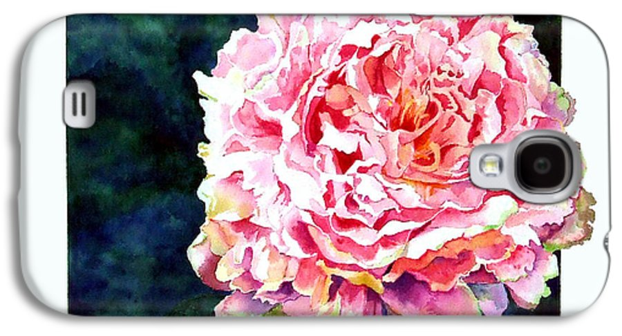 Peony Galaxy S4 Case featuring the painting The Ant's Castle by Linda Marie Carroll