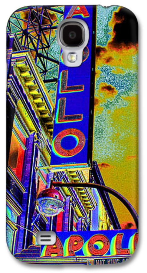 Harlem Galaxy S4 Case featuring the photograph The Apollo by Steven Huszar