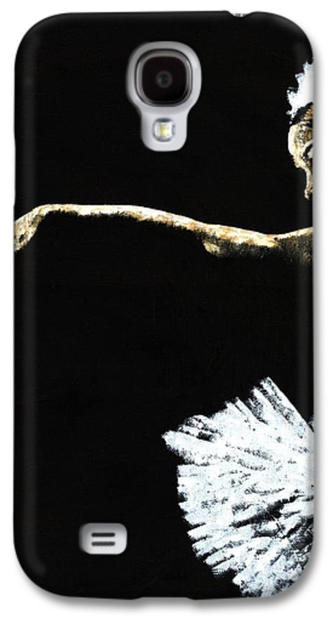 Ballet Galaxy S4 Case featuring the painting The Art Of Grace by Richard Young